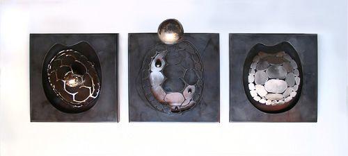 objetuaria-4.Tres variaciones sobre un caparazón de tortuga
