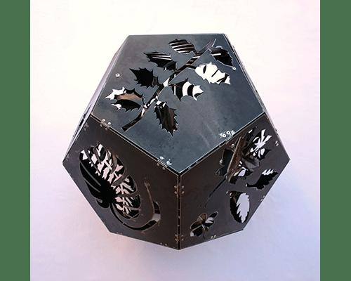 solidos platonicos 1 Jardin interior Dodecahedro detalle