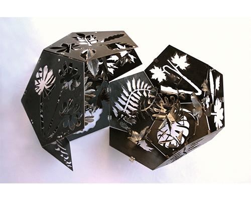 solidos platonicos 2 Jardin interior Dodecahedro detalle