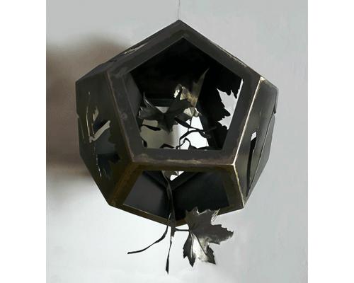 solidos platonicos 8. Dodecahedro cerrado