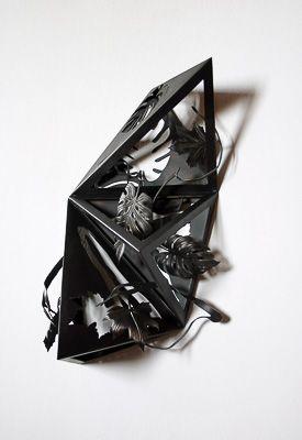 solidos platonicos Convergen tres tetrahedros