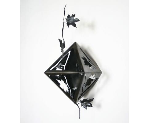 solidos platonicos octaedro simetrico horizontal