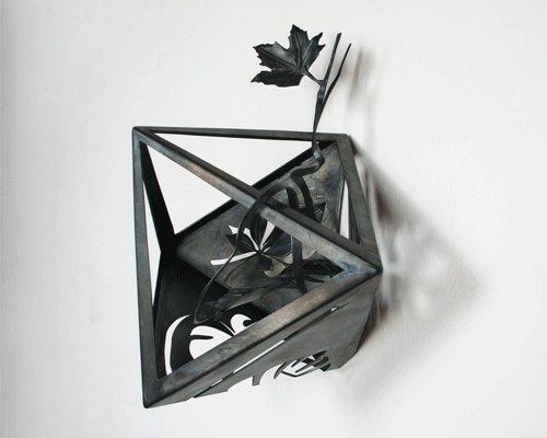 solidos platonicos octaedro simetrico vertical